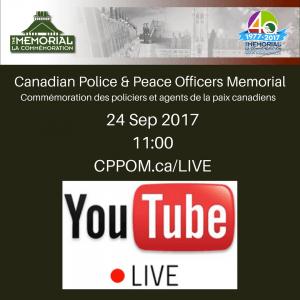 Canadian Police Peace Officers Memorial 24Sep2017 Commémoration des policiers et agents de la paix canadiens 300x300 Canadian Police & Peace Officers Memorial  24Sep2017   Commémoration des policiers et agents de la paix canadiens